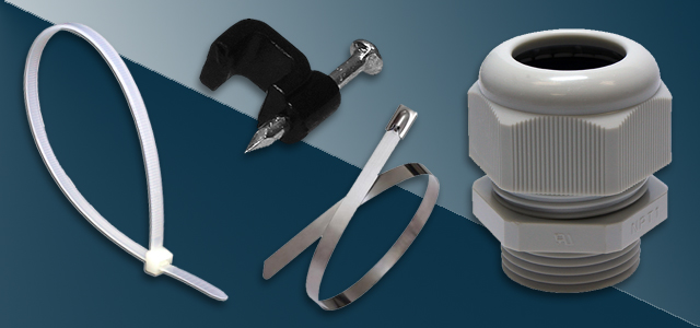 CORD GRIPS, CABLE TIES & ACCESSORIES