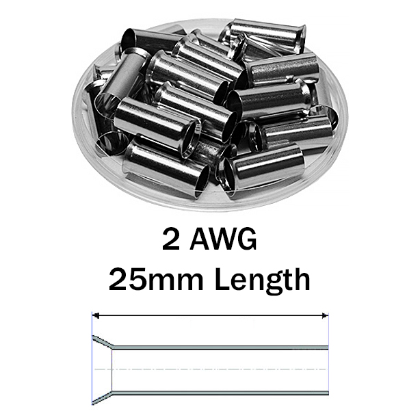 N350025 Non Insulated Wire Ferrules
